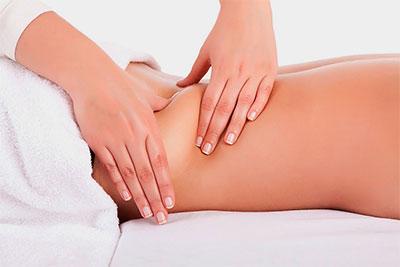 Massagem escultural modeladora para gordura nas costas